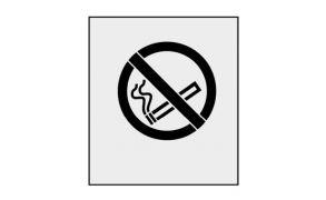 Rustoleum Marking Stencil, Smoking Prohibited