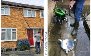 *Up and Down Package - SkyVac Atom and Pro Electric Driveway Cleaner