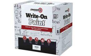 Zinsser Write-On Paint, White, 2.5 Litres