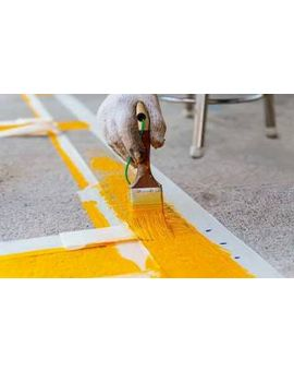 FLAG Chlorinated Rubber Line Paint, 5 Litres