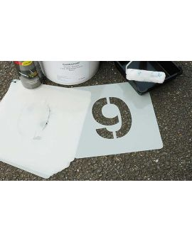 Centrecoat 0-9 Industrial Number Stencils