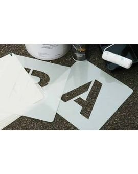 Centrecoat A-Z Industrial Stencils