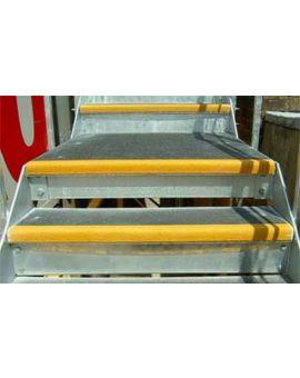 Centrecoat Anti-Slip Stair Nosing, 70 x 55mm