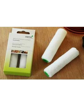 Osmo Mini Microfibre Roller Refills, 4 Inch