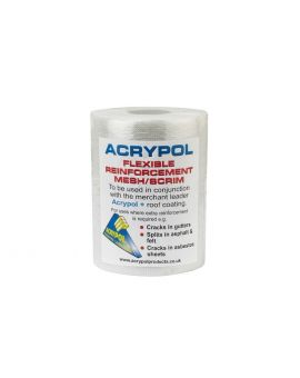 Acrypol Scrim for Roofs and Gutters, 150mm x 20m