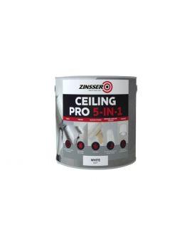 Zinsser Ceiling Pro 5-in-1, White, 2.5 Litres