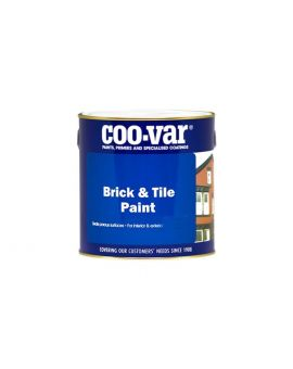 Coo-Var Water Based Brick and Tile Paint