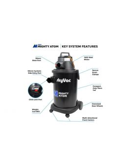 SKYVAC Mighty Atom Gutter Cleaning Machine