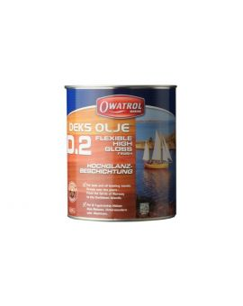 Owatrol Deks Olje D2 High Gloss Wood Finish