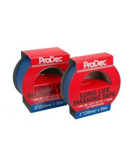 RODO ProDec Long Life Masking Tape PLLMT50, 50mm x 50m