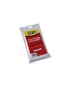 RODO Polythene Dust Sheet FDPY001, 12ft x 9ft
