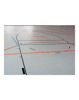 Sports-Cote Water Based Polyurethane Line Paint
