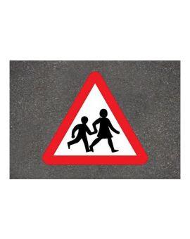Centrecoat Thermoplastic Children Crossing Warning