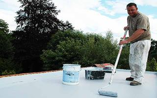 Flat Roof Waterproofing Paint