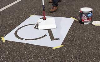 Line Marking Stencils